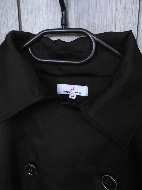 🔥акция 1+1=3🔥jacqueline riu пальто демисезонное стильное сбоку... - Фото 4