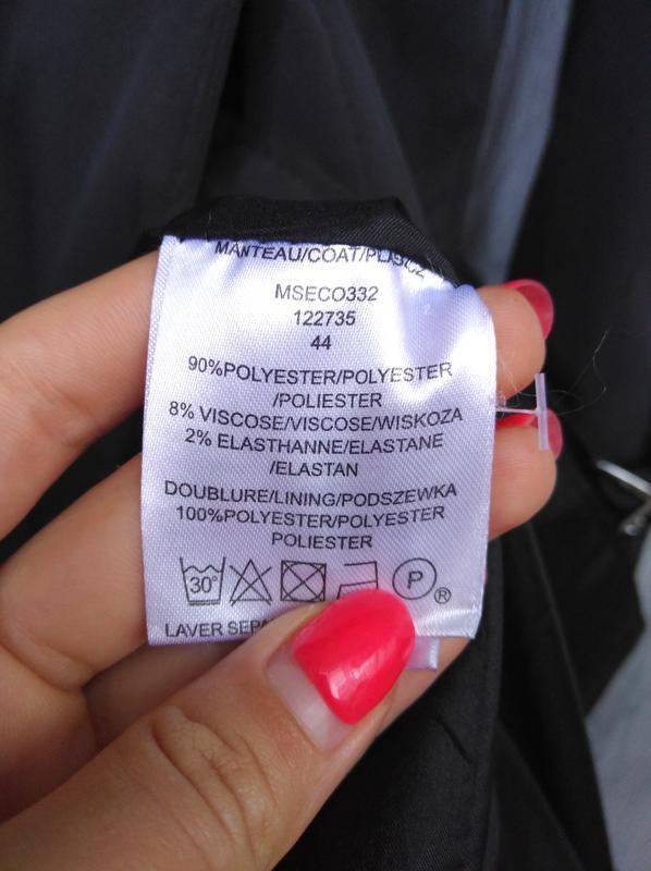 🔥акция 1+1=3🔥jacqueline riu пальто демисезонное стильное сбоку... - Фото 5