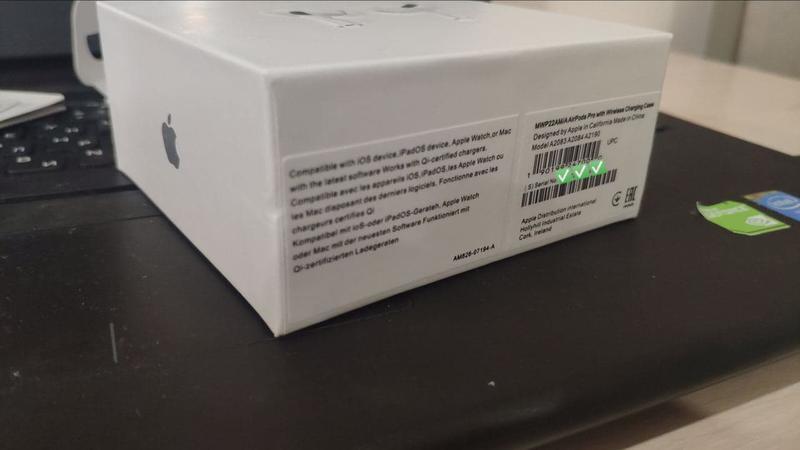 Наушники Apple AirPods Pro Оригинал. Гарантия. Сертификация. - Фото 3