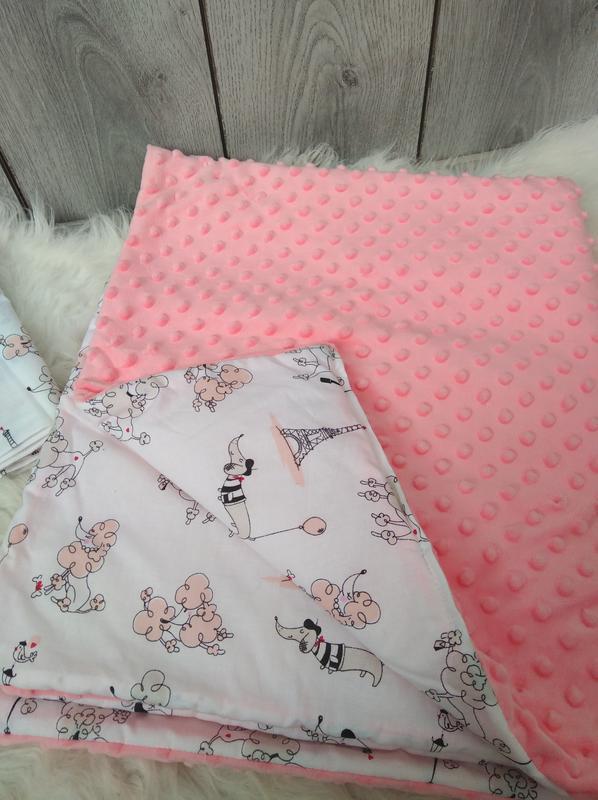 Новый minky минки плюш теплый с утеплителем плед конверт одеял... - Фото 2