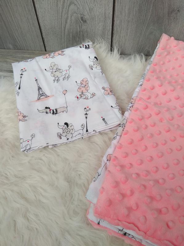 Новый minky минки плюш теплый с утеплителем плед конверт одеял... - Фото 3