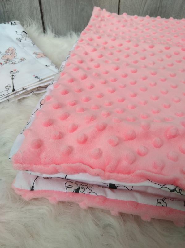 Новый minky минки плюш теплый с утеплителем плед конверт одеял... - Фото 4