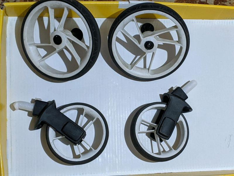 Комплект коліс для коляски Easy go optimo
