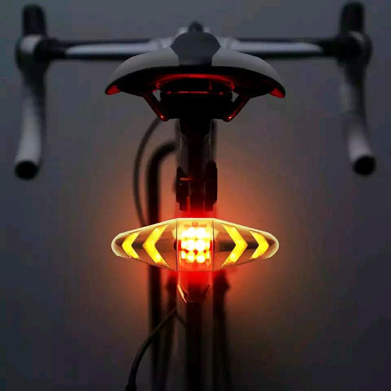 Указатель поворотов для велосипеда.