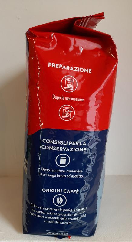 Кофе в зернах Lavazza Espresso Crema e Gusto 20% араб Италия 1кг - Фото 3