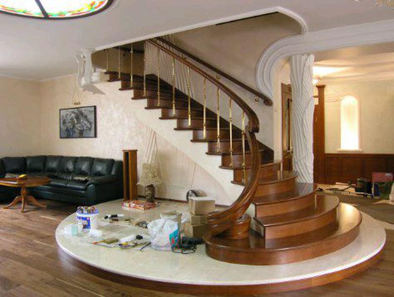Лестницы изготовление монтаж - Фото 14