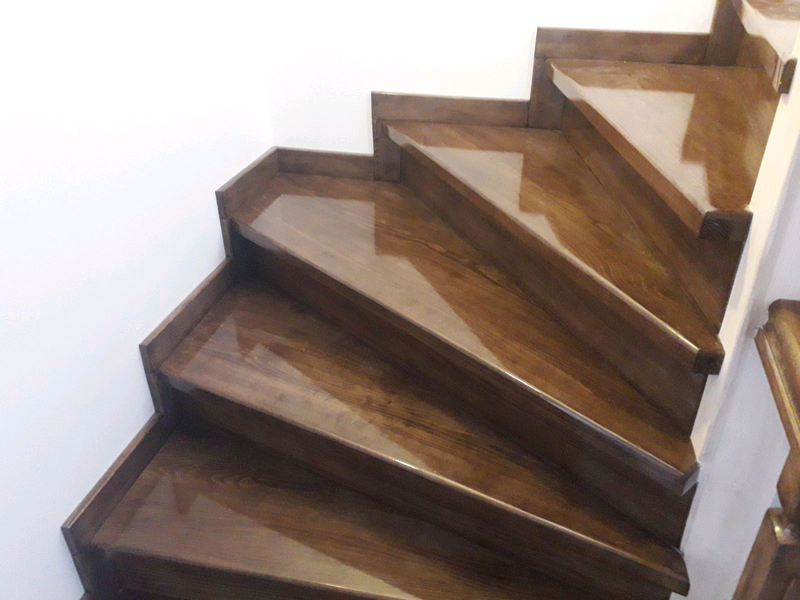 Лестницы изготовление монтаж - Фото 19
