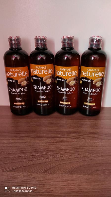 Шампунь с аргановым маслом и кофеиномFarmasi Naturelle