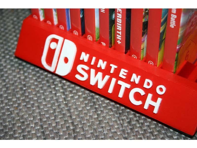 Держатель подставка 12 игр Nintendo Switch