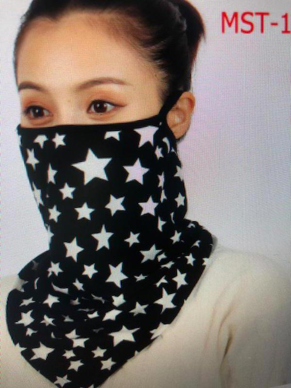 Маска для лица, шарф