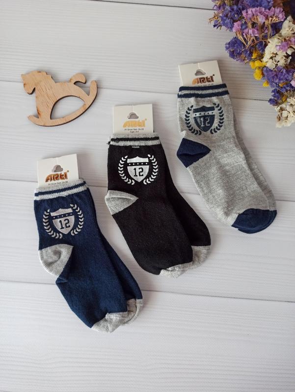 Комплект деми носков для мальчиков, турция арти