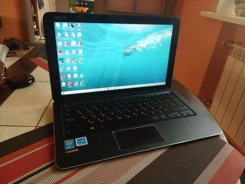 Ноутбук планшет трансформер Asus t300 chi