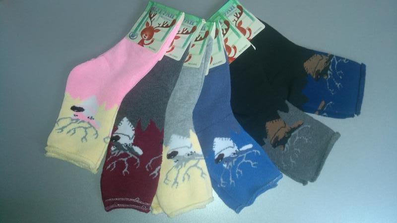 Махрові плотні носки  на 32-37