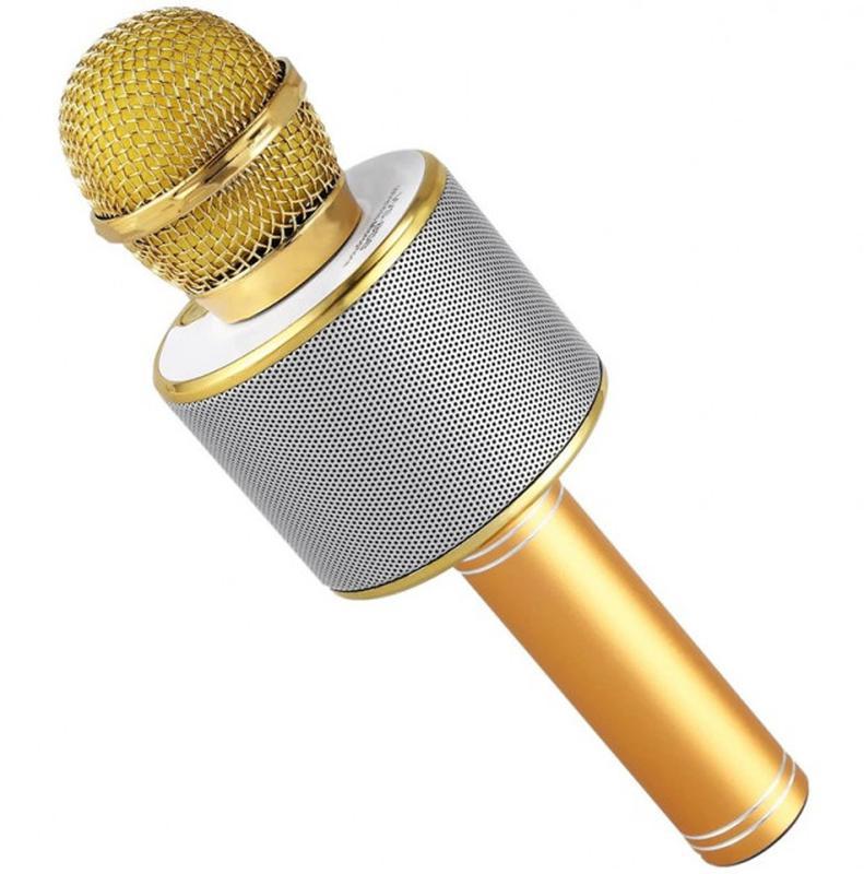 Караоке микрофон Bluetooth беспроводной Wster WS 858 - Фото 3