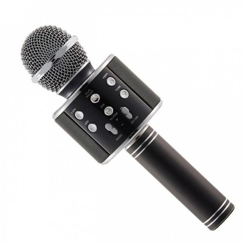 Караоке микрофон Bluetooth беспроводной Wster WS 858 - Фото 7