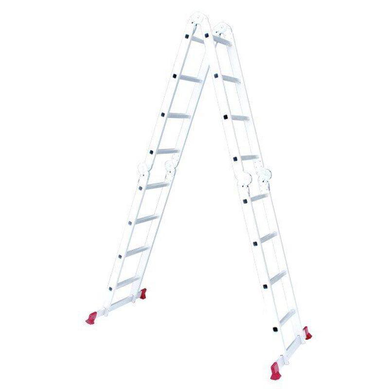 Лестница алюминиевая мультифункциональная INTERTOOL LT-0029