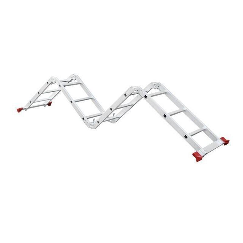 Лестница алюминиевая мультифункциональная INTERTOOL LT-0030