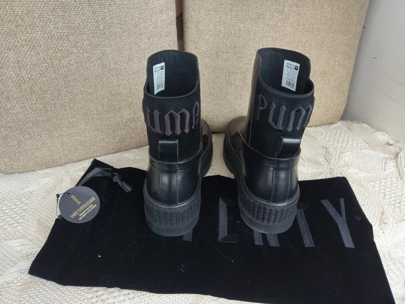 Оригинал puma fenty. челси ботинки кроссовки. дизайнер рианна.