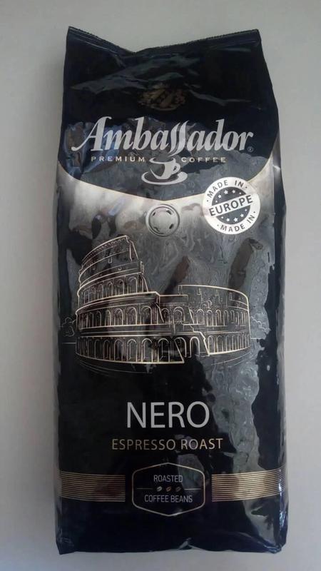Кофе в зернах Ambassador Nero 1кг