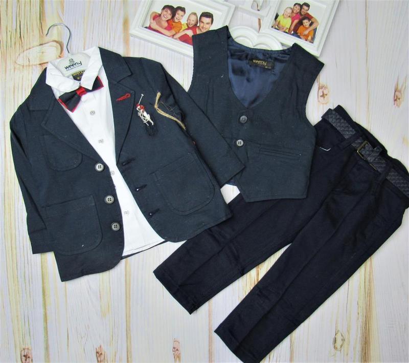 Нарядный костюм на мальчика 1-4 года