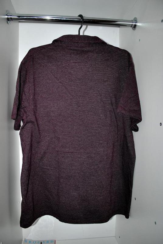 Мужская футболка бренда debenhams l фиолетово-бордового цвета - Фото 2