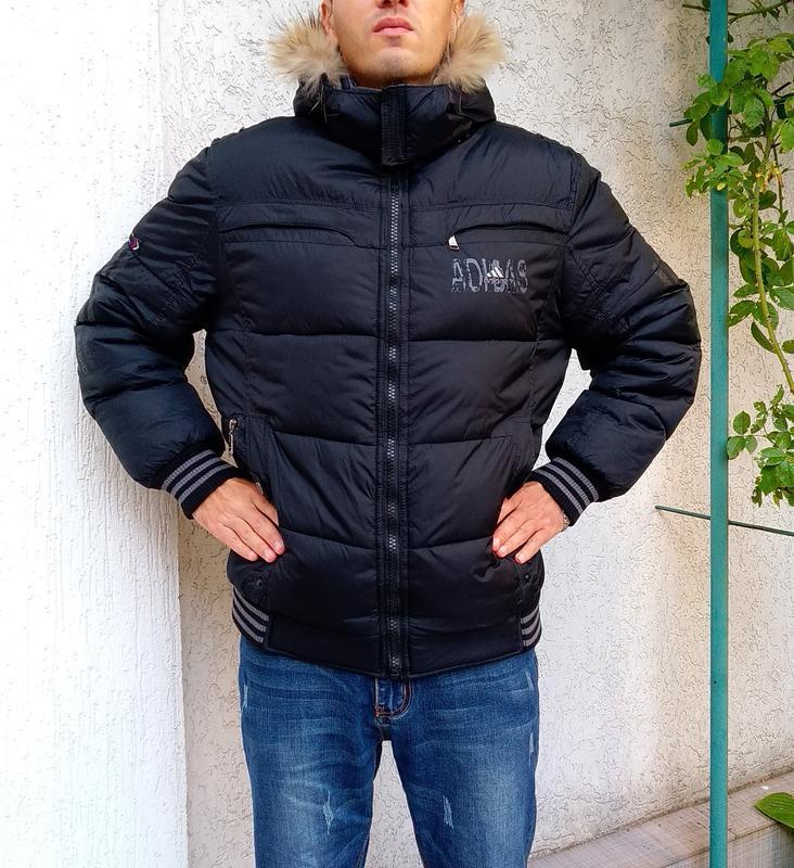 Двухсторонняя мужская куртка на зиму