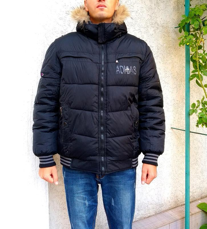 Двухсторонняя мужская куртка на зиму - Фото 2