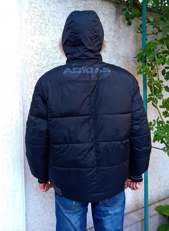 Двухсторонняя мужская куртка на зиму - Фото 4