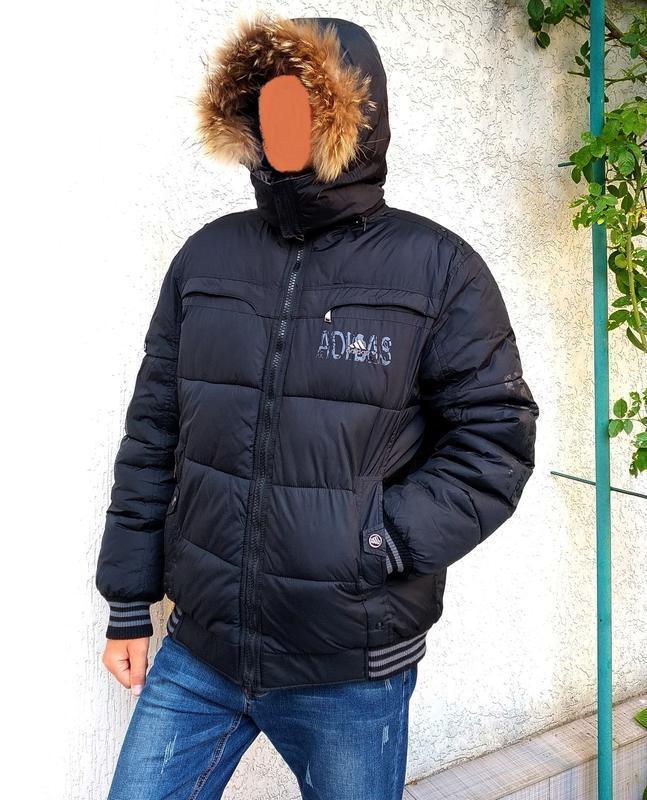 Двухсторонняя мужская куртка на зиму - Фото 5