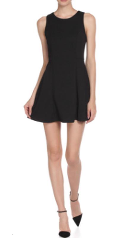 Черное платье silvian heach - Фото 2