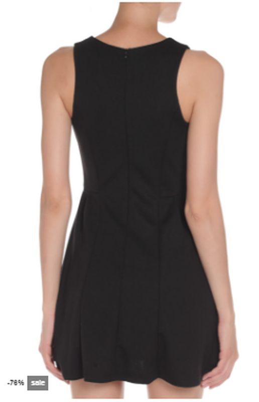Черное платье silvian heach - Фото 4