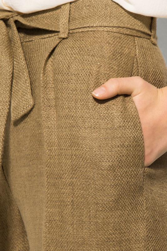 Летние льняные штаны p.36 и 38 massimo dutti - Фото 5