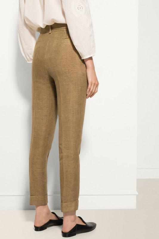 Летние льняные штаны p.36 и 38 massimo dutti - Фото 3