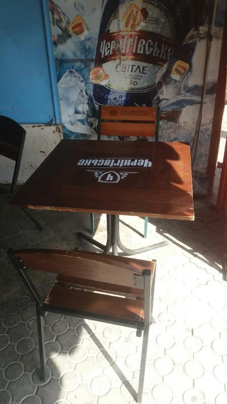 Столы в комплекте со стульями