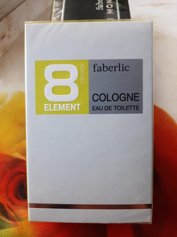 Туалетная вода faberlic 8 element cologne.100 ml.