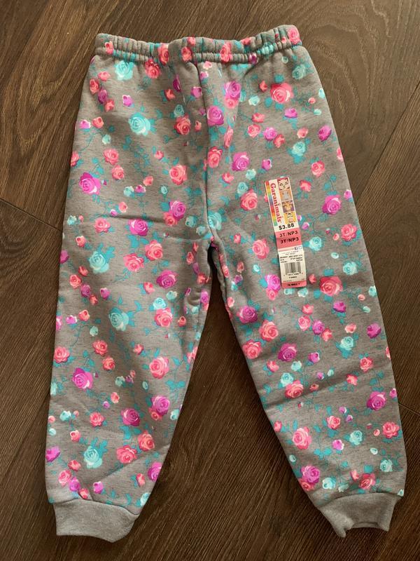 Тёплые флисовые штаны garanimals