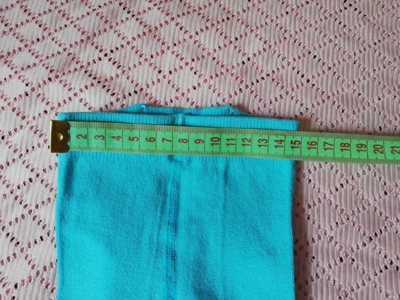 Колготки для новорождённых бирюзового цвета, 8-10 размер, 0-6 ... - Фото 7