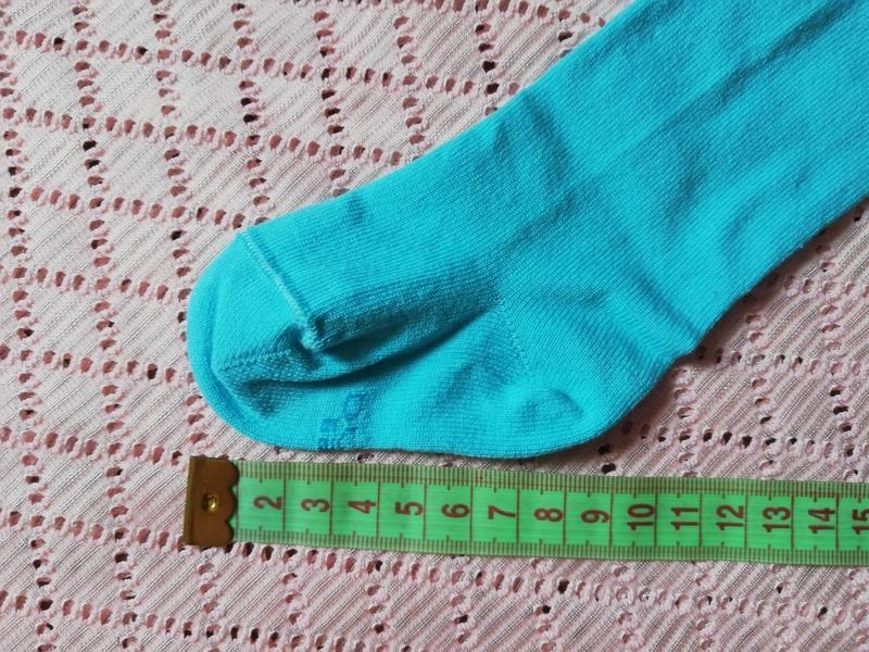 Колготки для новорождённых бирюзового цвета, 8-10 размер, 0-6 ... - Фото 8