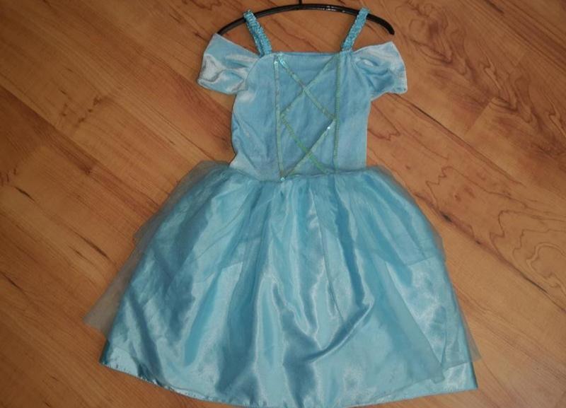 Карнавальный костюм платье принцессы/ снежинка