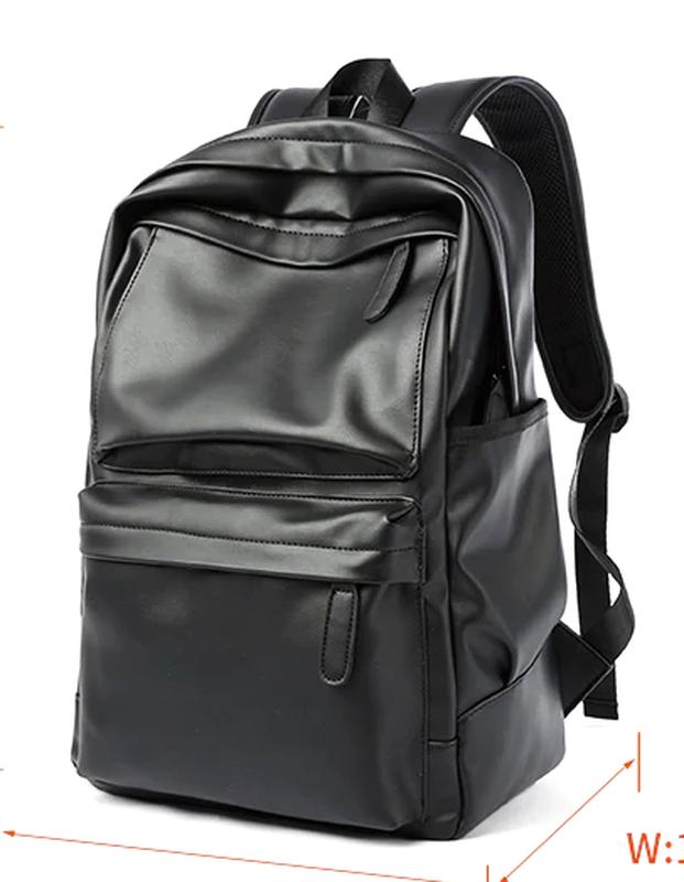 Крутой рюкзак с usb j3. кожаная сумка. мужской рюкзак кожа. по... - Фото 2