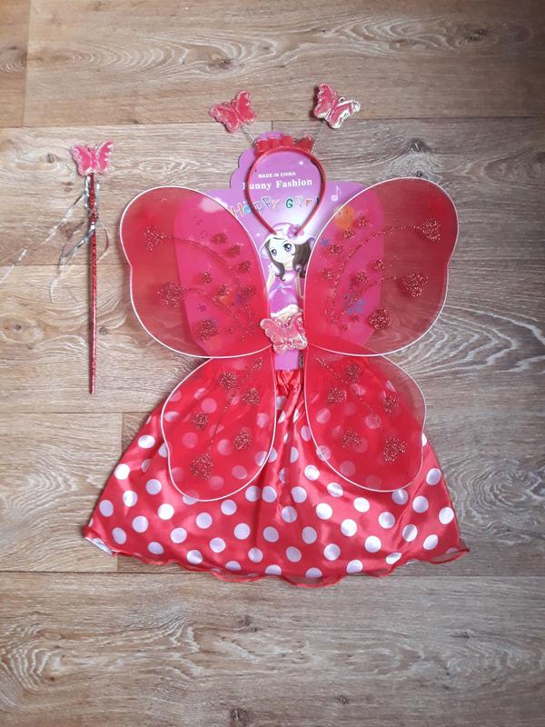 Костюм фея или бабочка. Новый год. Праздник
