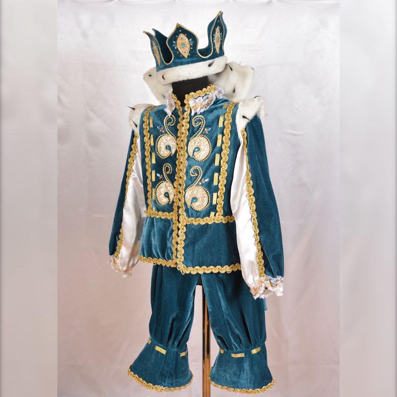 Карнавальный детский костюм Короля 4-5 лет