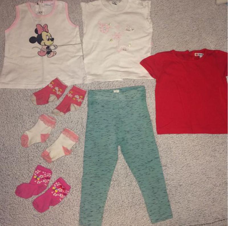 лосины, лосинки, футболка, носочки