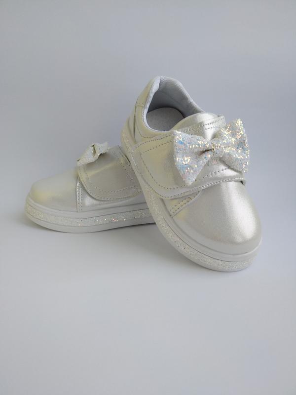 Нарядные белые туфельки для юных модниц!!!