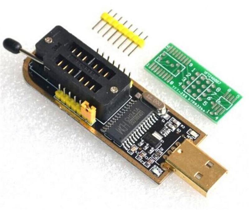 USB Программатор CH341A Gold SPI FLASH EEPROM