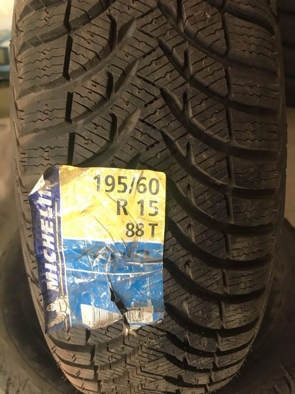Продам комплект Michelin Alpin A4 195.60.15 новая Зима - Фото 2