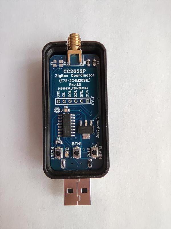 Координатор умного дома ZigBee V4 на базе CC2652 с антенной 4dB