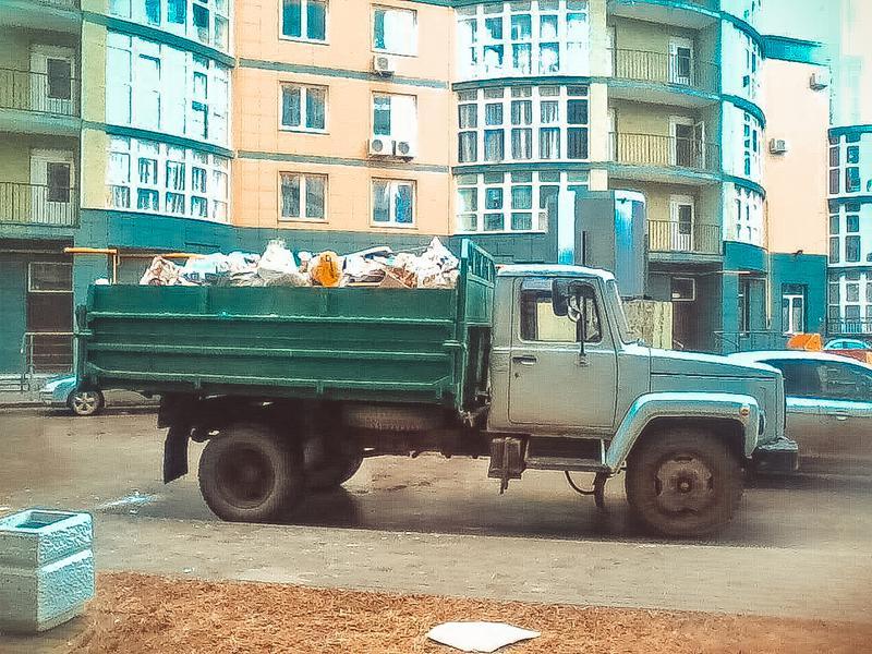 Вывоз строительного мусора киев и область Камаз зил газель - Фото 3