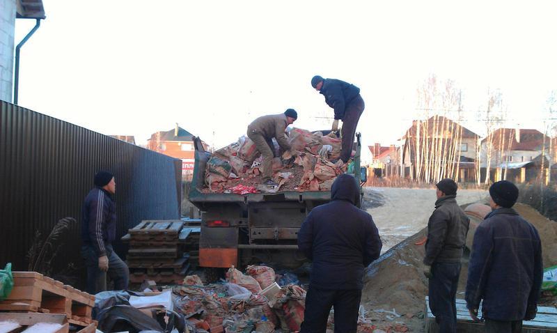 Вывоз строительного мусора киев и область Камаз зил газель - Фото 4