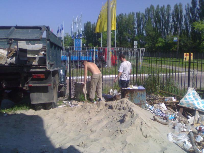 Вывоз строительного мусора киев и область Камаз зил газель - Фото 5
